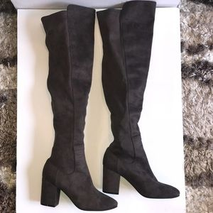 Treasure and bond lynx stretch over the knee boot